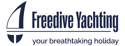 Freedive Yachting Logo Blue
