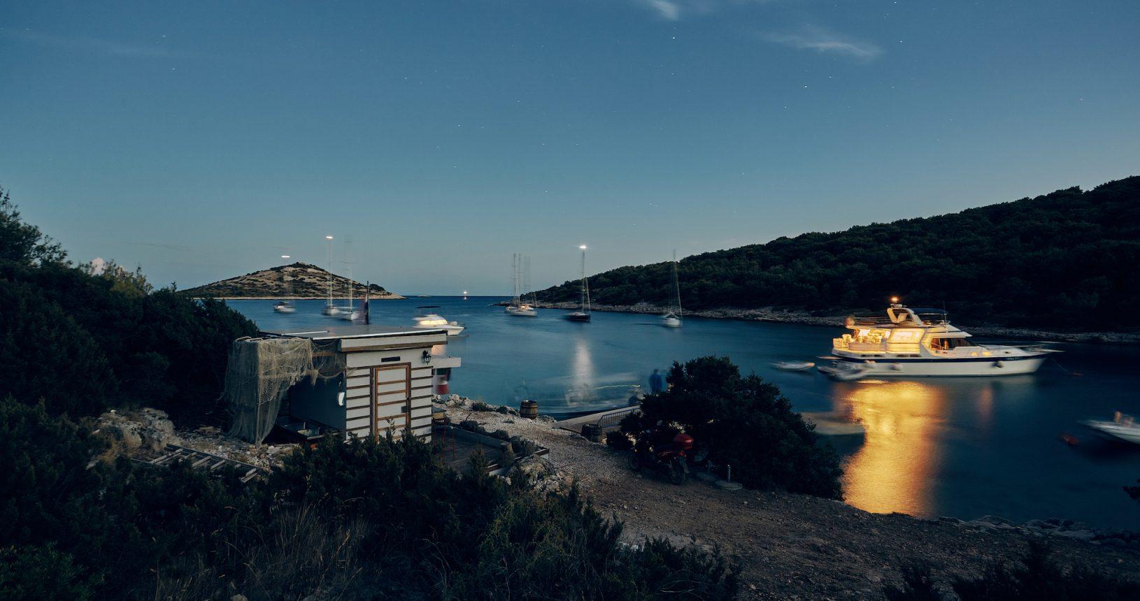 Croatia Kornati boat