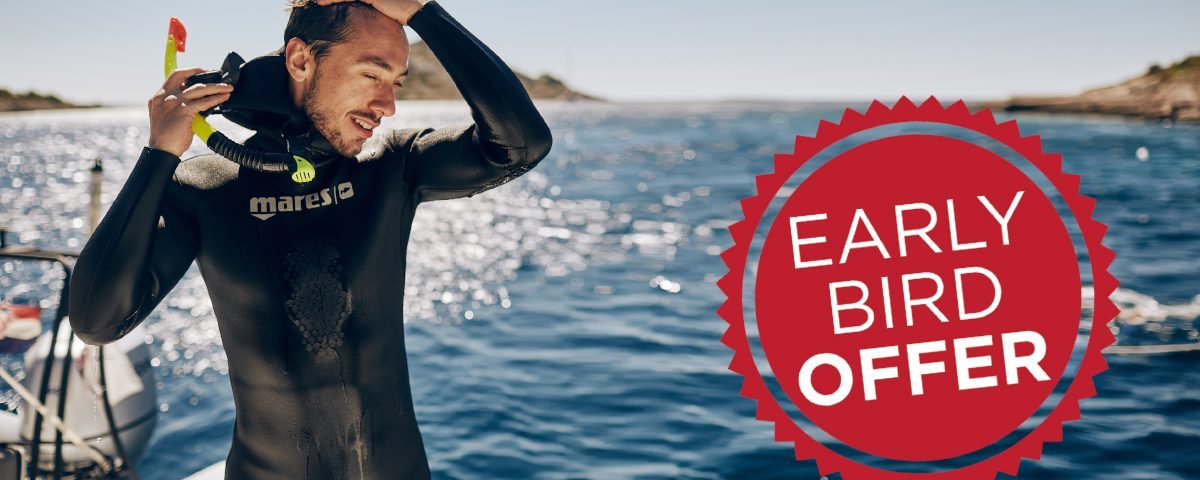 Freedive Yachting 2019 early bird offer