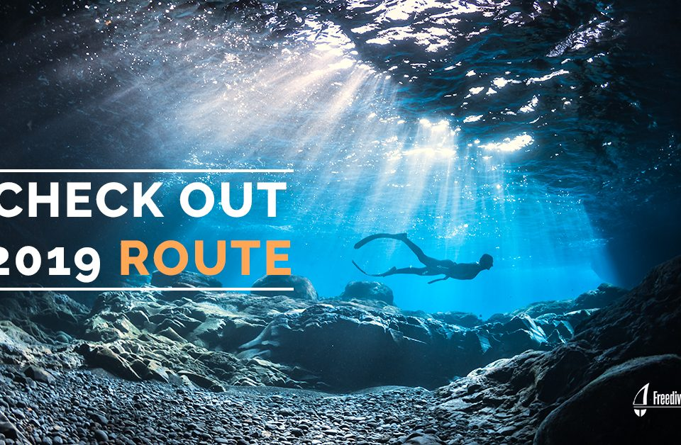 Freedive Yachting 2019 route